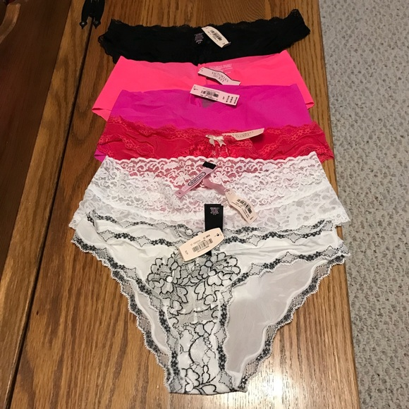 5ba96a0c49e 6 Pairs Of Victorias Secret Size Small Underwear